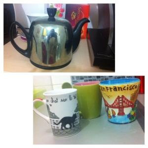 Théière et mugs