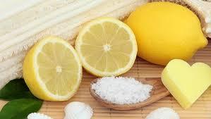 Citron et sucre en coeur